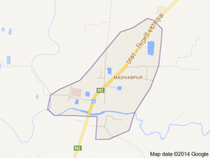 madhabpur map